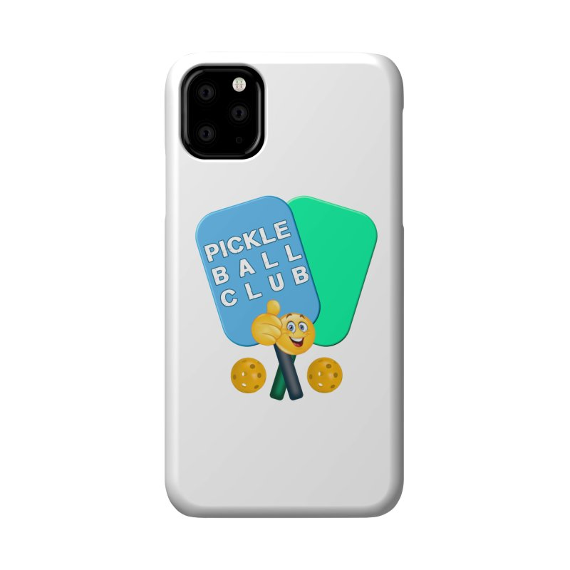 PickleBall Club Accessories Phone Case by Leading Artist Shop