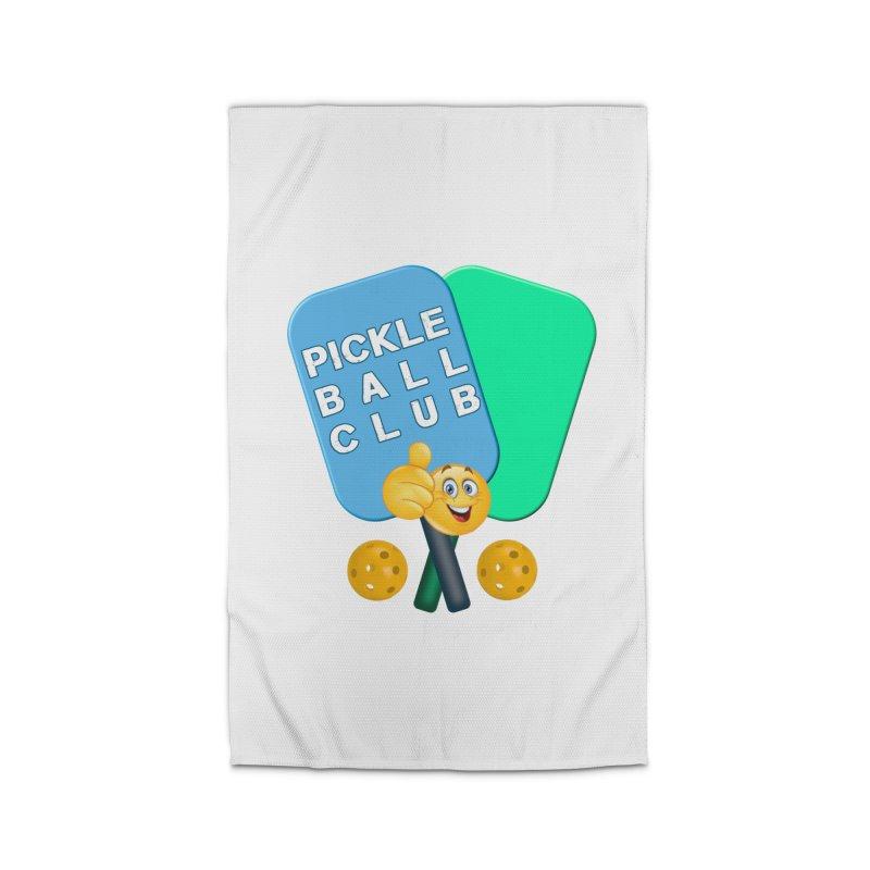 PickleBall Club Home Rug by Leading Artist Shop