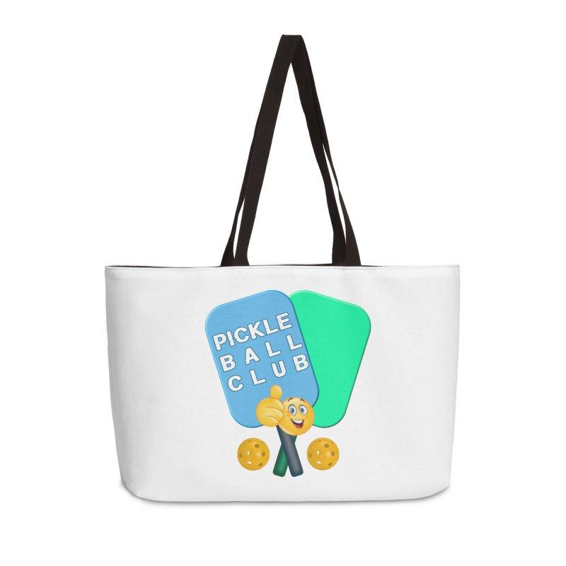 PickleBall Club Accessories Weekender Bag Bag by Leading Artist Shop
