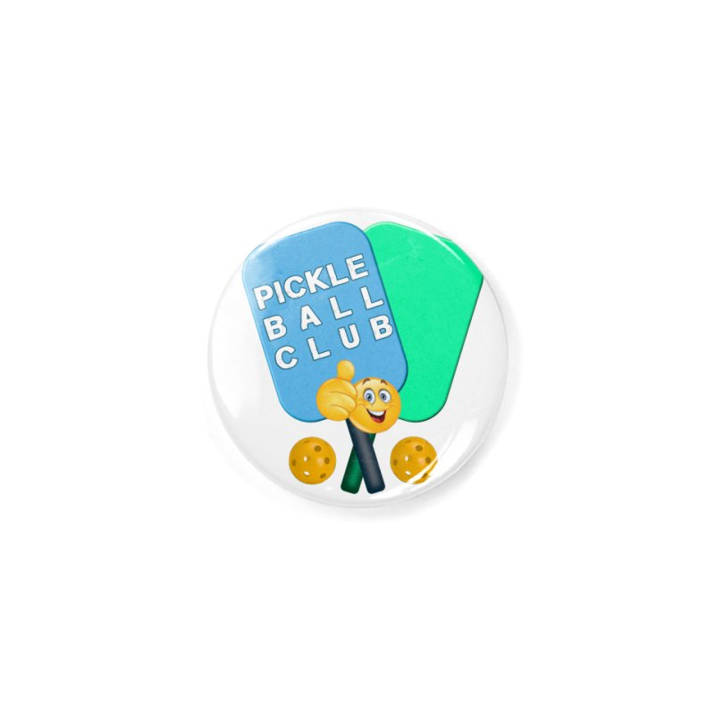 PickleBall Club Accessories Button by Leading Artist Shop