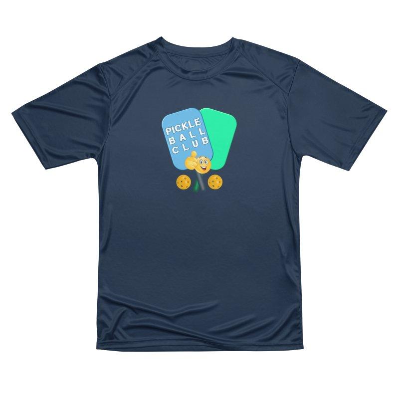 PickleBall Club Women's Performance Unisex T-Shirt by Leading Artist Shop