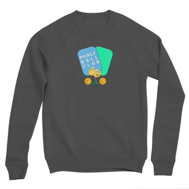 PickleBall Club Men's Sponge Fleece Sweatshirt by Leading Artist Shop