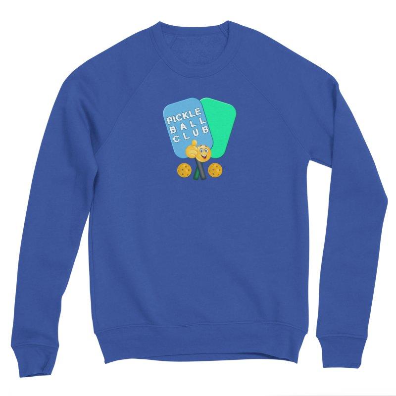 PickleBall Club Women's Sponge Fleece Sweatshirt by Leading Artist Shop