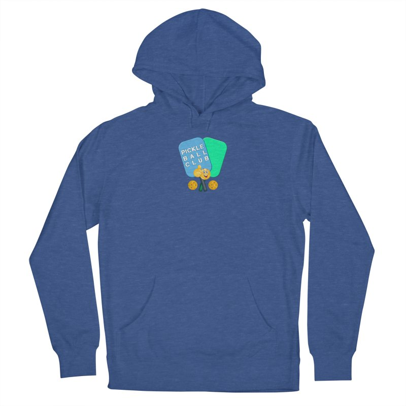 PickleBall Club Women's French Terry Pullover Hoody by Leading Artist Shop