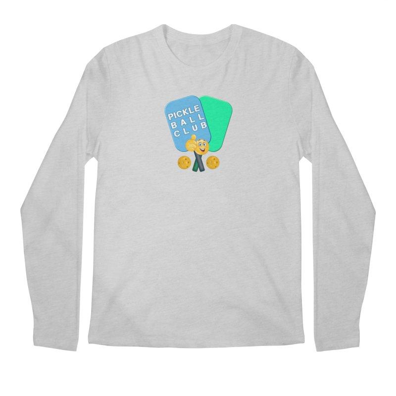 PickleBall Club Men's Regular Longsleeve T-Shirt by Leading Artist Shop