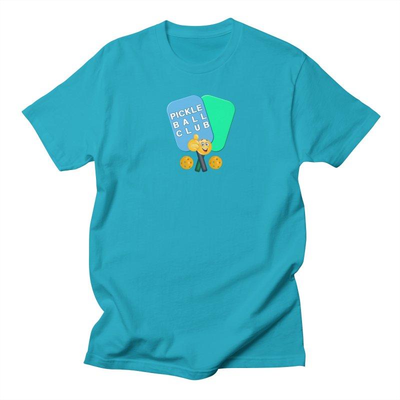 PickleBall Club Men's Regular T-Shirt by Leading Artist Shop