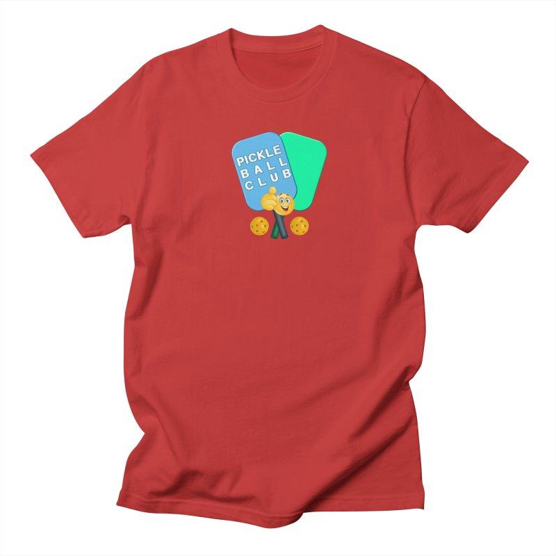 PickleBall Club Women's Regular Unisex T-Shirt by Leading Artist Shop