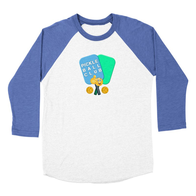 PickleBall Club Women's Baseball Triblend Longsleeve T-Shirt by Leading Artist Shop