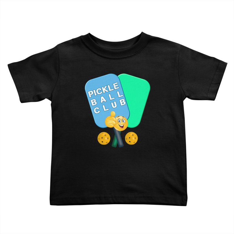 PickleBall Club Kids Toddler T-Shirt by Leading Artist Shop