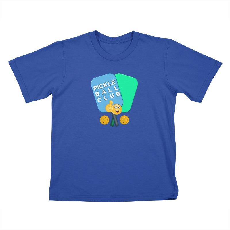 PickleBall Club Kids T-Shirt by Leading Artist Shop