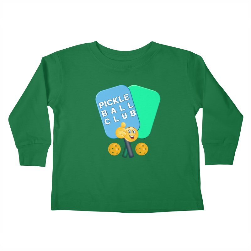 PickleBall Club Kids Toddler Longsleeve T-Shirt by Leading Artist Shop