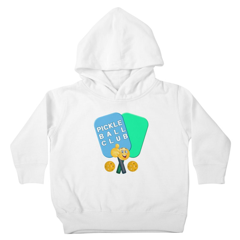 PickleBall Club Kids Toddler Pullover Hoody by Leading Artist Shop