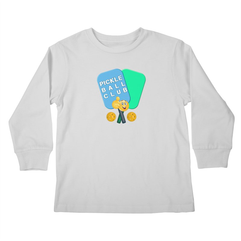 PickleBall Club Kids Longsleeve T-Shirt by Leading Artist Shop