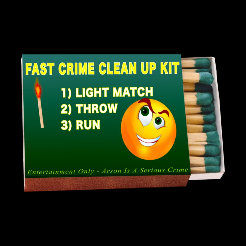 Fast Crime Clean Up Kit - Funny by Leading Artist Shop