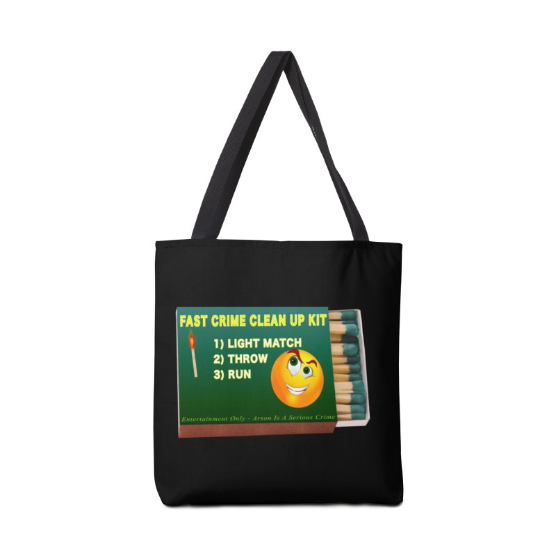 Fast Crime Clean Up Kit - Funny Accessories Tote Bag Bag by Leading Artist Shop