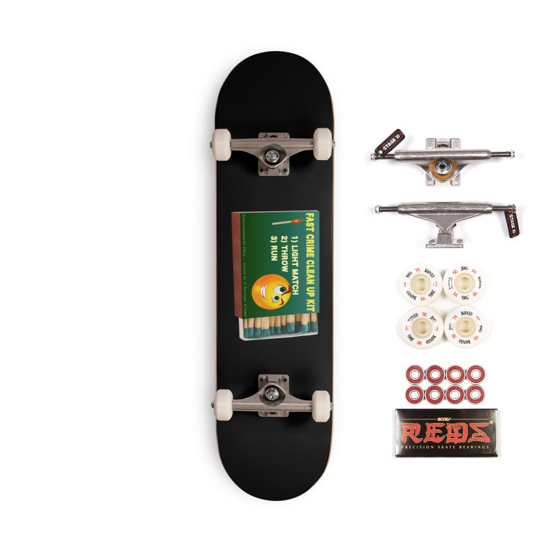 Fast Crime Clean Up Kit - Funny Accessories Complete - Pro Skateboard by Leading Artist Shop
