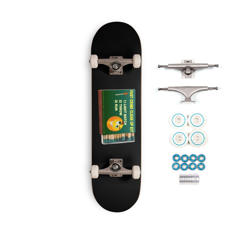 Fast Crime Clean Up Kit - Funny Accessories Complete - Basic Skateboard by Leading Artist Shop
