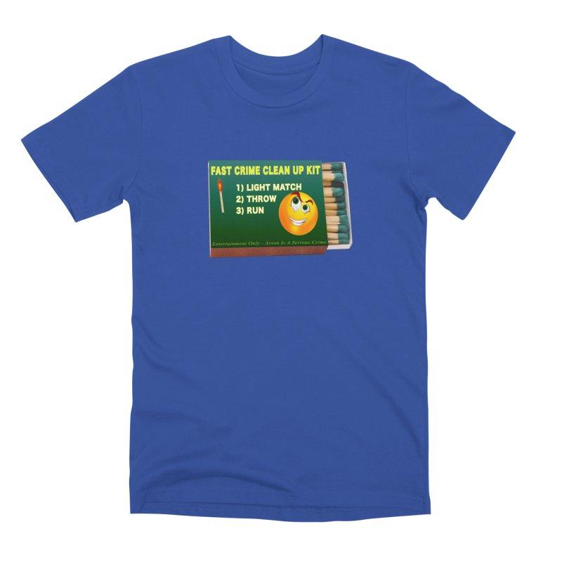 Fast Crime Clean Up Kit - Funny Men's Premium T-Shirt by Leading Artist Shop