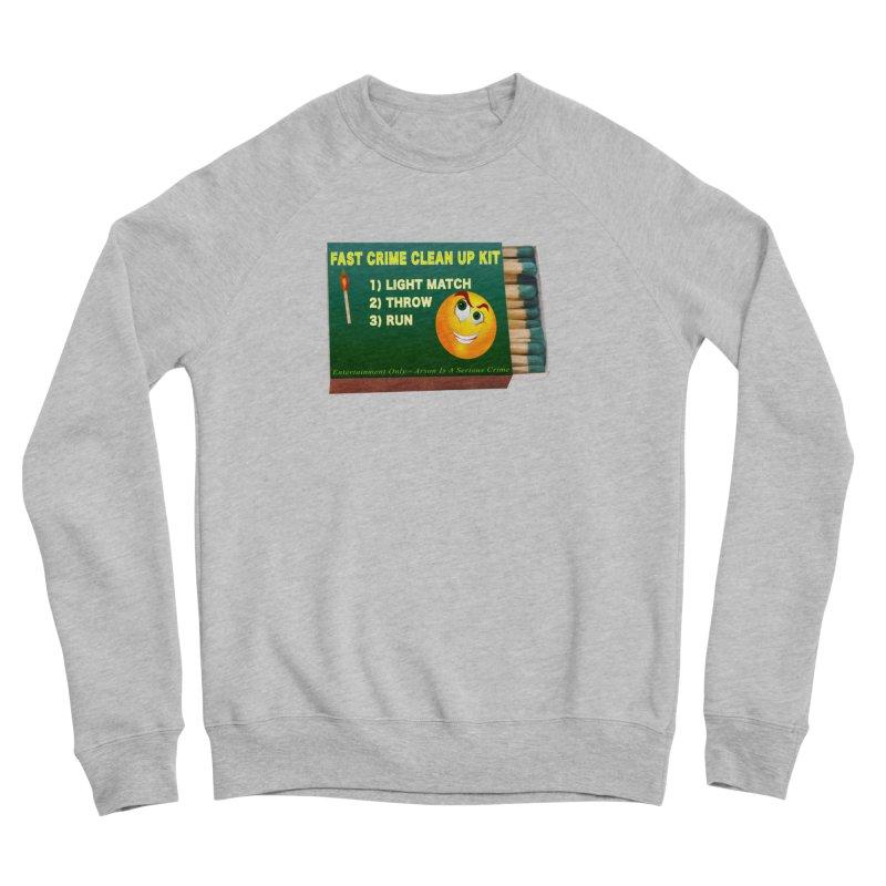 Fast Crime Clean Up Kit - Funny Men's Sponge Fleece Sweatshirt by Leading Artist Shop