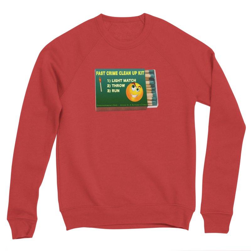 Fast Crime Clean Up Kit - Funny Women's Sponge Fleece Sweatshirt by Leading Artist Shop