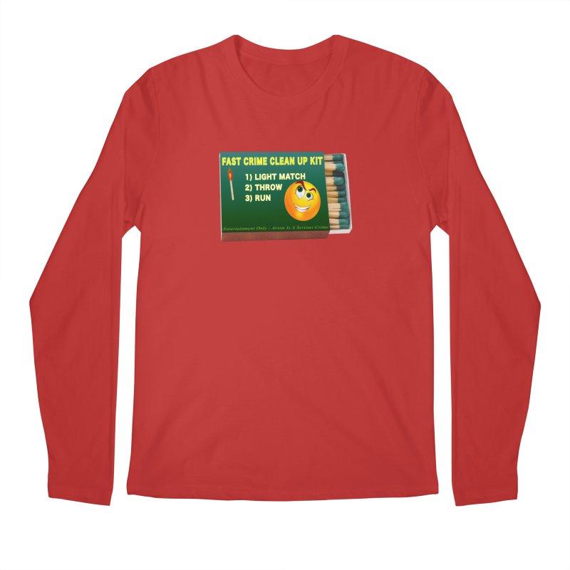Fast Crime Clean Up Kit - Funny Men's Regular Longsleeve T-Shirt by Leading Artist Shop