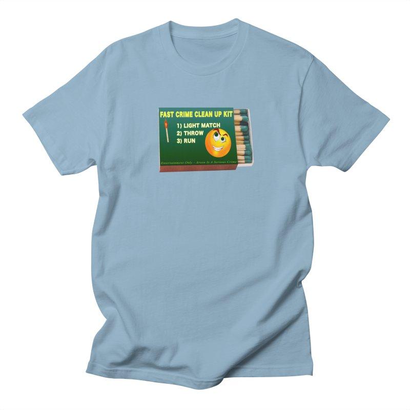 Fast Crime Clean Up Kit - Funny Women's Regular Unisex T-Shirt by Leading Artist Shop