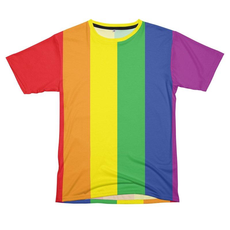 LTBG Shirt Rainbow Best Seller Women's Unisex T-Shirt Cut & Sew by Leading Artist Shop