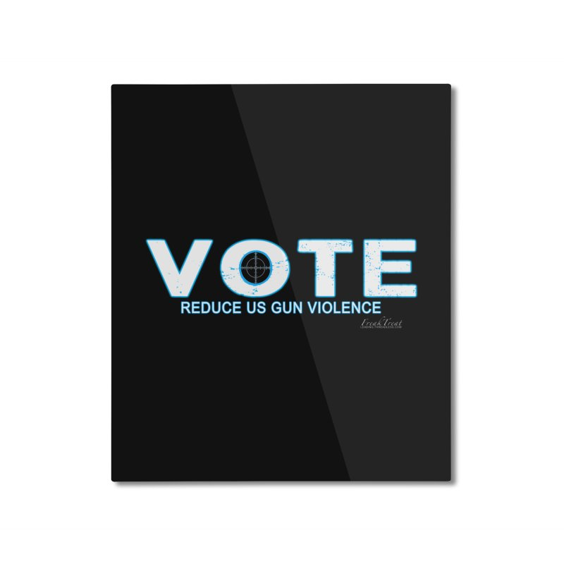 Vote To Reduce Gun Violence Home Mounted Aluminum Print by Leading Artist Shop