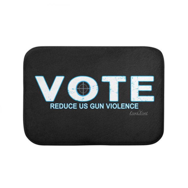 Vote To Reduce Gun Violence Home Bath Mat by Leading Artist Shop