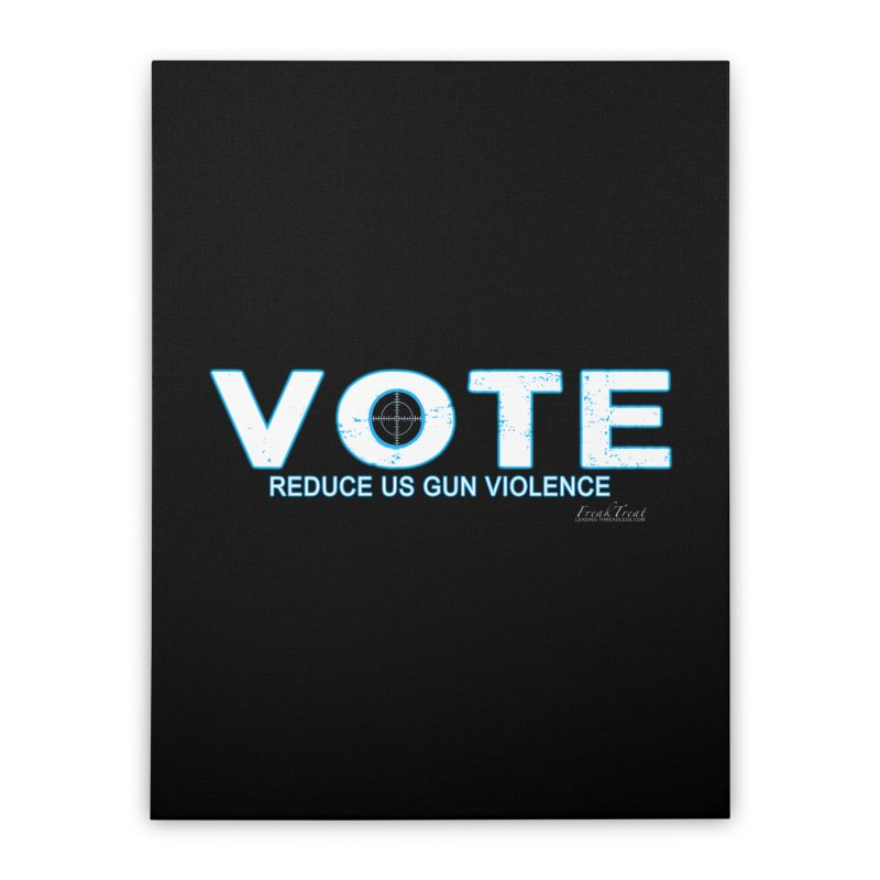 Vote To Reduce Gun Violence Home Stretched Canvas by Leading Artist Shop