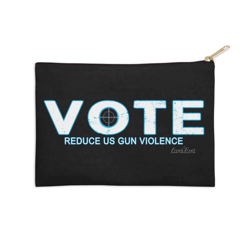 Vote To Reduce Gun Violence Accessories Zip Pouch by Leading Artist Shop