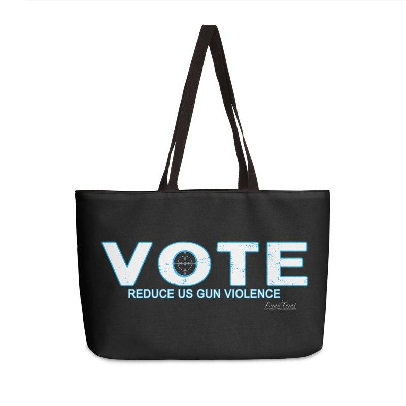Vote To Reduce Gun Violence Accessories Weekender Bag Bag by Leading Artist Shop