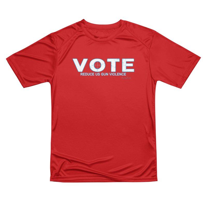 Vote To Reduce Gun Violence Women's Performance Unisex T-Shirt by Leading Artist Shop
