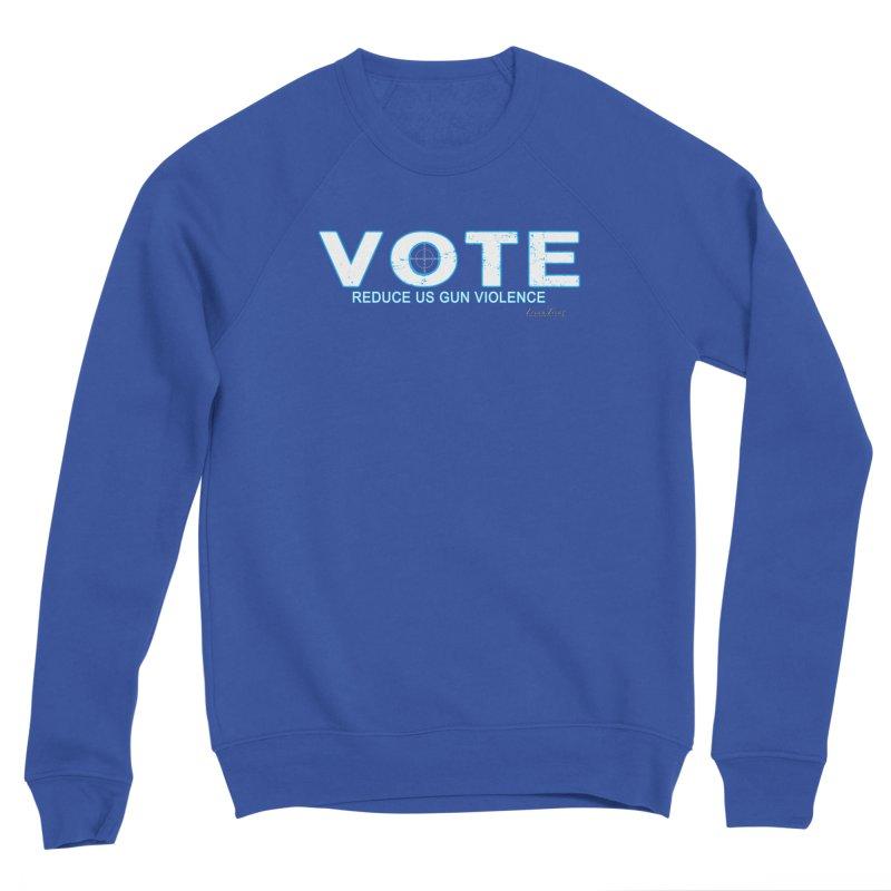 Vote To Reduce Gun Violence Men's Sponge Fleece Sweatshirt by Leading Artist Shop