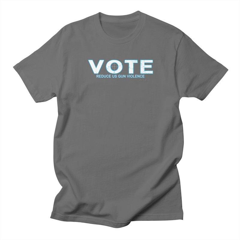 Vote To Reduce Gun Violence Men's T-Shirt by Leading Artist Shop