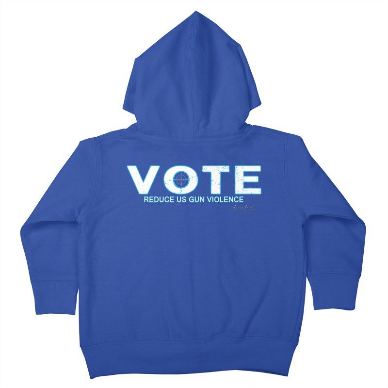 Vote To Reduce Gun Violence Kids Toddler Zip-Up Hoody by Leading Artist Shop