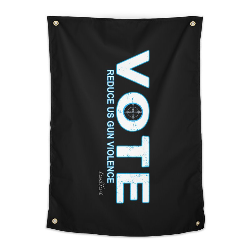 Vote To Reduce Gun Violence Home Tapestry by Leading Artist Shop
