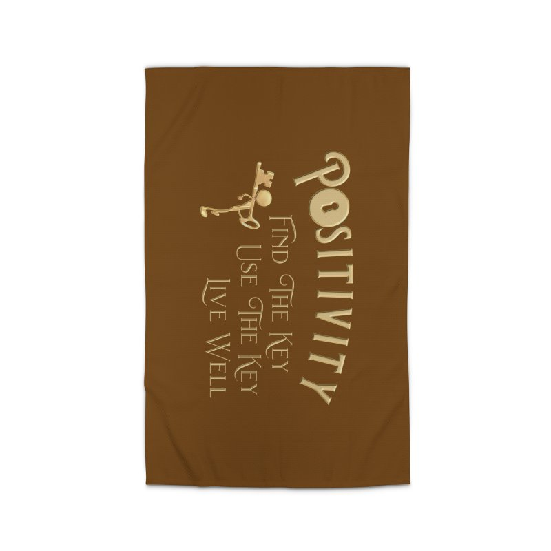 Positivity Key Shirts Home Rug by Leading Artist Shop