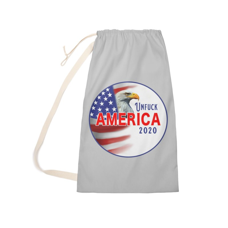 Unfuck America 2020 Accessories Laundry Bag Bag by Leading Artist Shop
