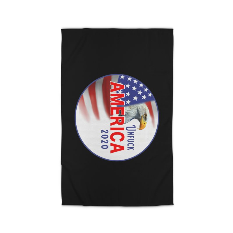 Unfuck America 2020 Home Rug by Leading Artist Shop