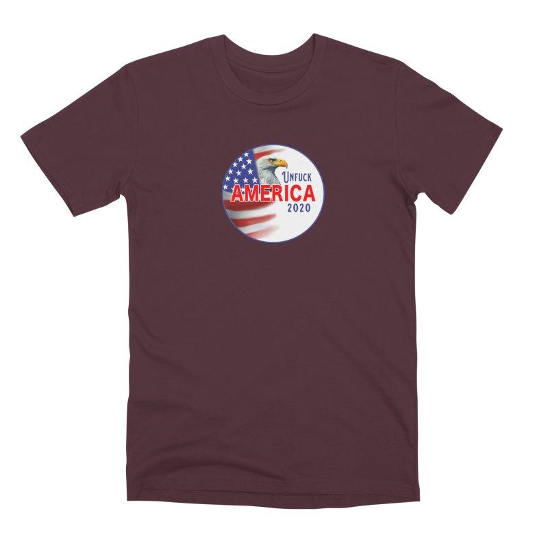 Unfuck America 2020 Men's Premium T-Shirt by Leading Artist Shop