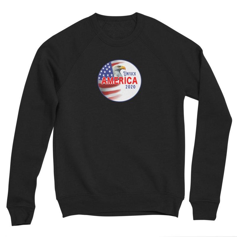 Unfuck America 2020 Women's Sponge Fleece Sweatshirt by Leading Artist Shop