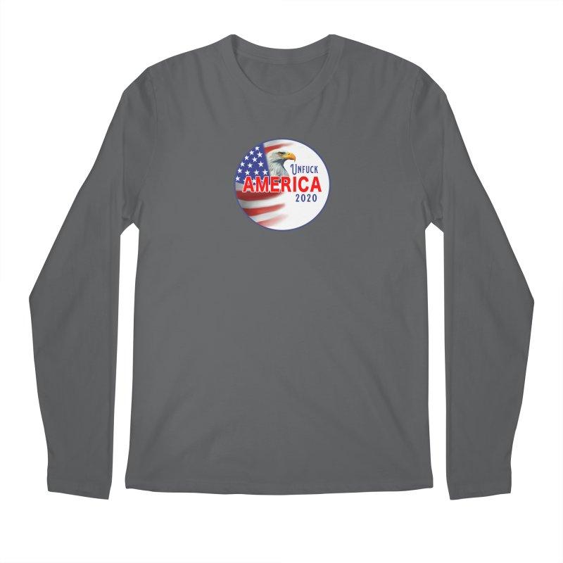 Unfuck America 2020 Men's Regular Longsleeve T-Shirt by Leading Artist Shop
