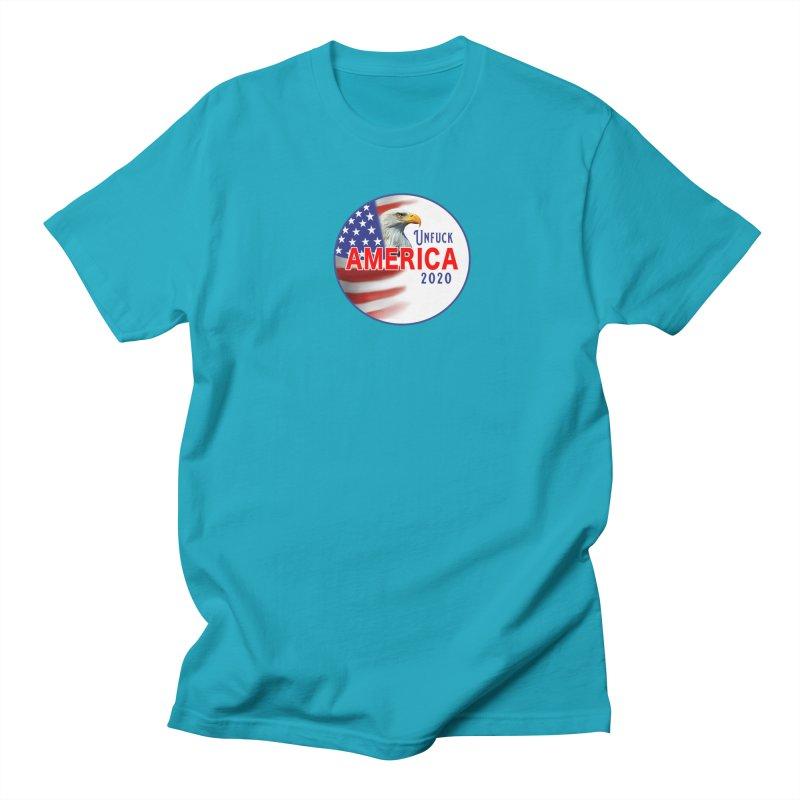 Unfuck America 2020 Women's Regular Unisex T-Shirt by Leading Artist Shop