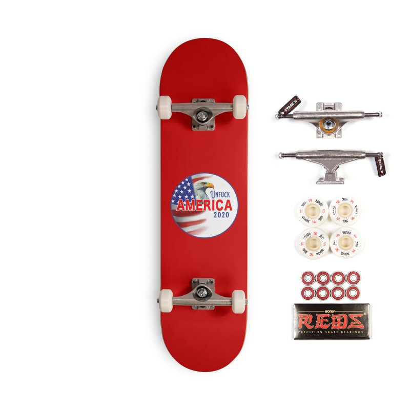 Unfuck America 2020 Accessories Complete - Pro Skateboard by Leading Artist Shop