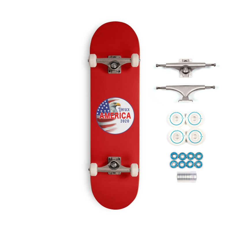 Unfuck America 2020 Accessories Complete - Basic Skateboard by Leading Artist Shop