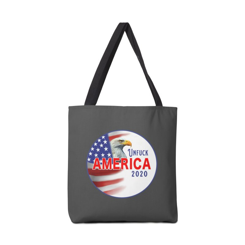 Unfuck America 2020 Accessories Tote Bag Bag by Leading Artist Shop