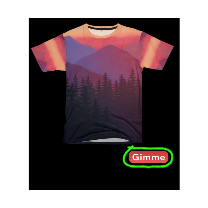 Sunset Woods Mountain Shirts by Leading Artist Shop
