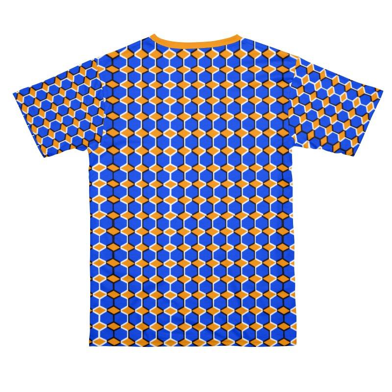 Optical Illusion Shirt Men's Cut & Sew by Leading Artist Shop