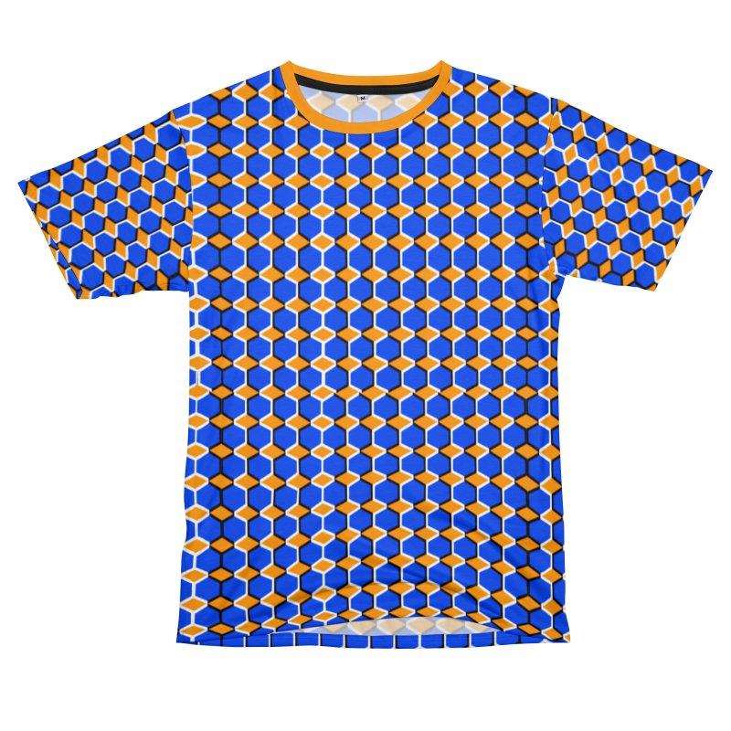 Optical Illusion Shirt Men's T-Shirt Cut & Sew by Leading Artist Shop